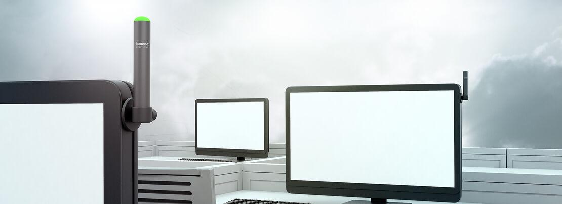 Kuando Anwendung LifeStyle Bild 15306 alpha on Monitor