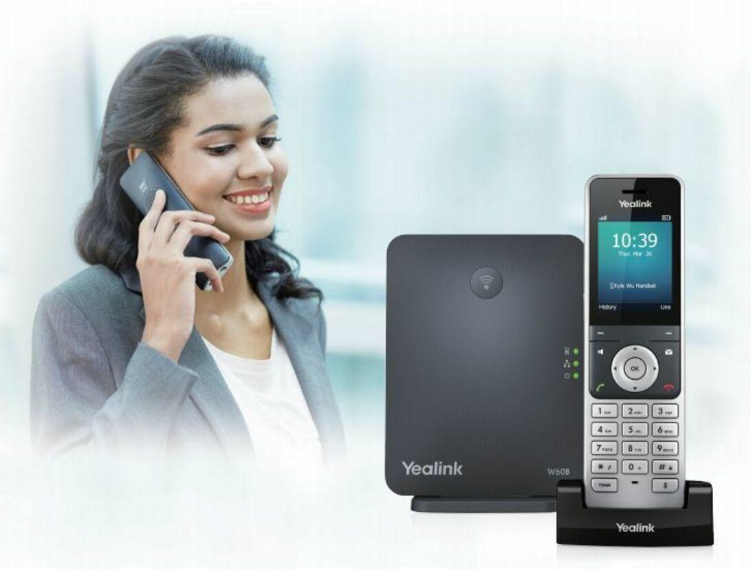 Yealink Anwendung LifeStyle Bild SIP-W60P Package front