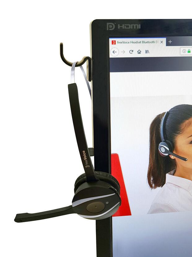 freeVoice Produktbilder 14207-16-FRV Headset Hanger / Halter 4 PC