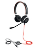 Jabra Hauptbild 6399-823-109 Evolve 40 Duo angled with cord