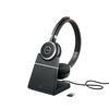 Jabra Hauptbild 6599-823-399 Evolve 65 in stand with dongle