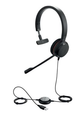 Jabra Photo principale 4993-823-109 Evolve 20 Mono angled with cord